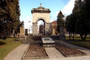памятник советским воинам в городе Новый Сонч