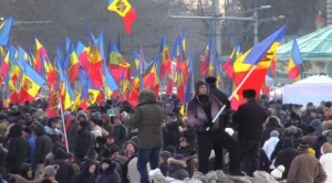 беспорядки в молдове