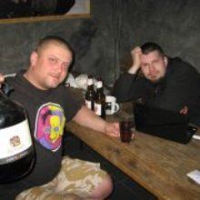 Алесь Денисов пива в Лиде не попьет