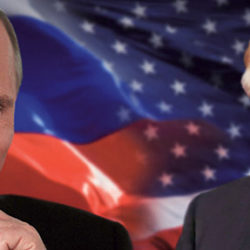 Владимир Путин встречается с Дональдом Трампом