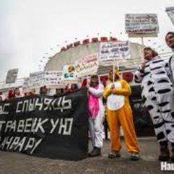 Комедия белорусской оппозиции после трагедии Чернобыля