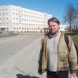 Вадим Саранчуков на «День Воли» молился за Лукашенко и весь силовой блок