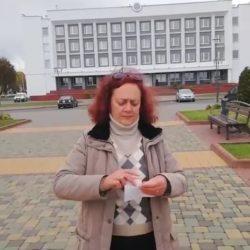12-ый друг Оушена – лидская активистка Регина Беркус «идет» в президенты под руководством Николая Статкевича