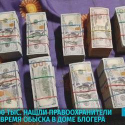 Лукашенко подбросил, Тихановский споймал 900 тыс долларов США? Обыск на даче