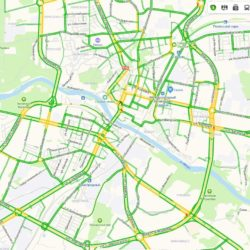 Блокада дорог в Гродно утром в пятницу не удалась