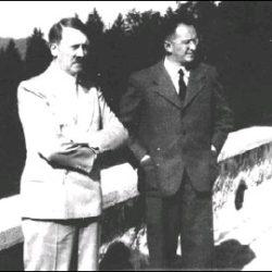 Конрад Генлейн и Анжелика Борис