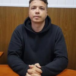 А Роман ли Протасевич на видео?