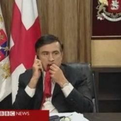 Триумфальное возвращение Саакашвили в Грузию